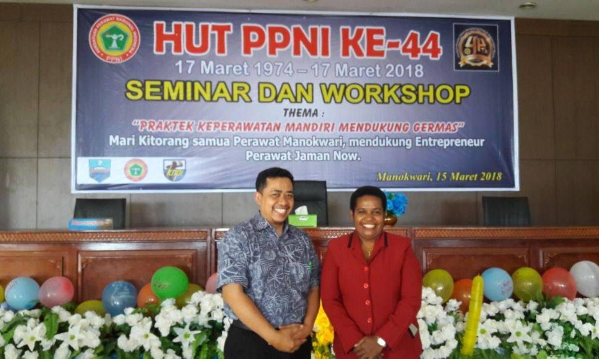 Seminar Praktik Keperawatan Mandiri PPNI Manokwari