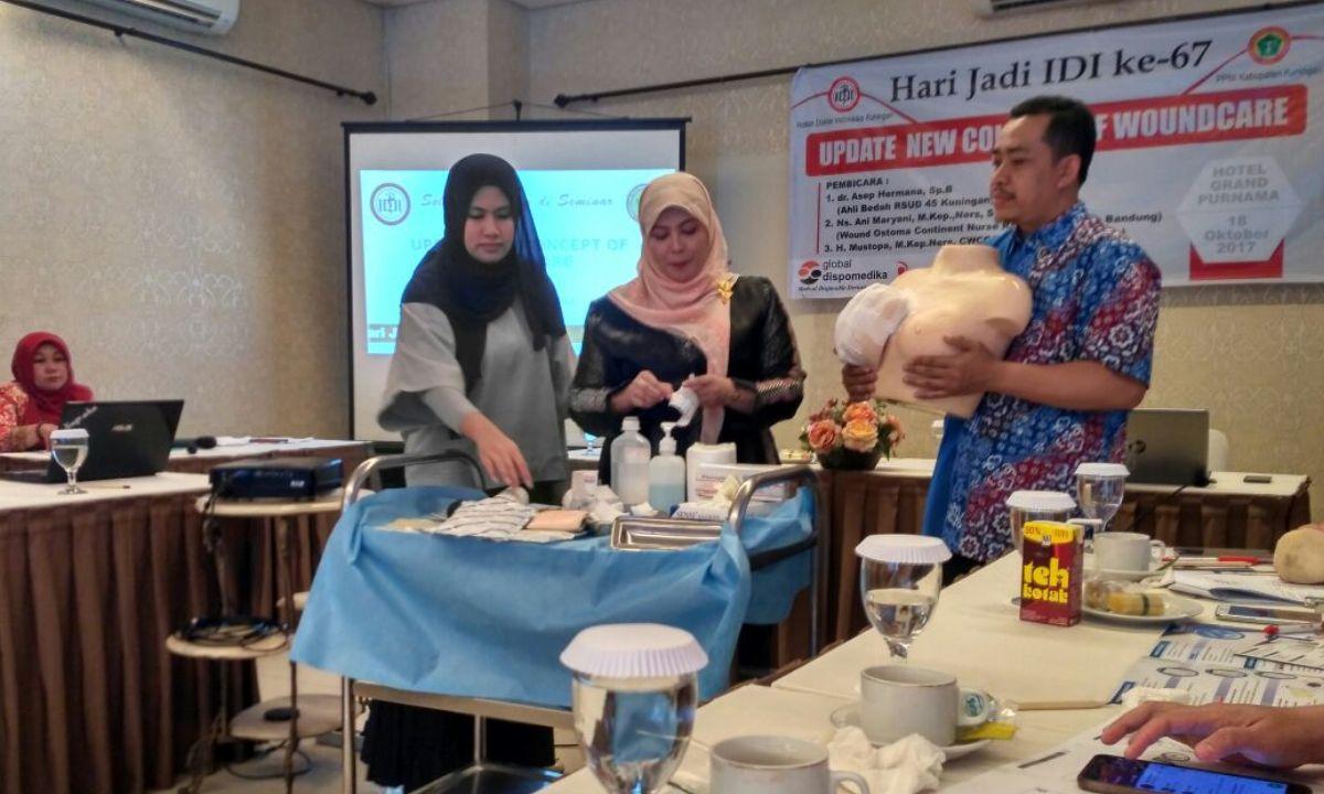 Workshop Perawatan Luka Bersama IDI Kab Kuningan